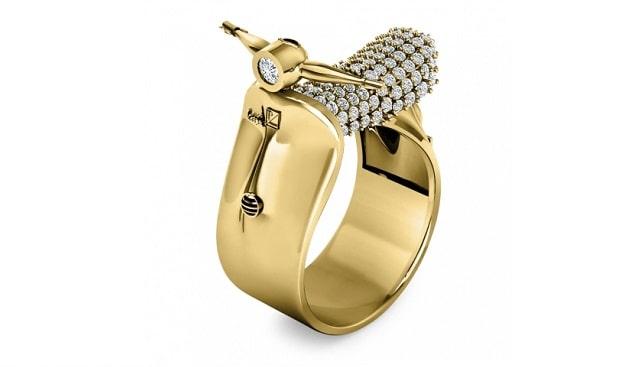 diamond gold ring goldiam