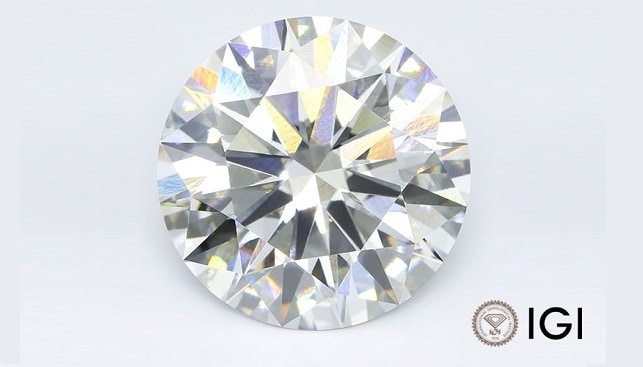 largest synthetic diamond 12.75ct