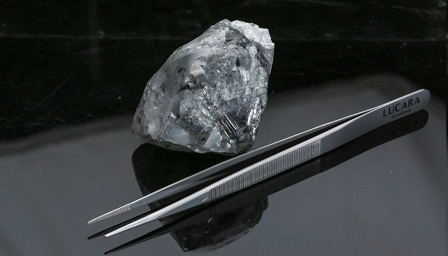 lucara 998 carat white diamond