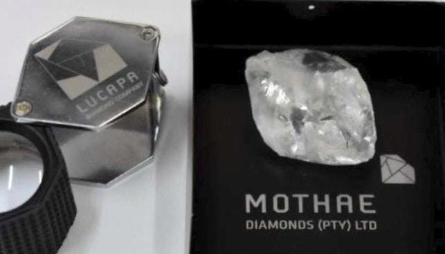 large diamond mothae lucapa