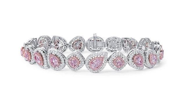 pink diamonds bracelet astteria