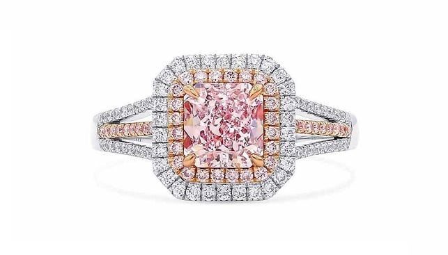 pink diamonds ring astteria