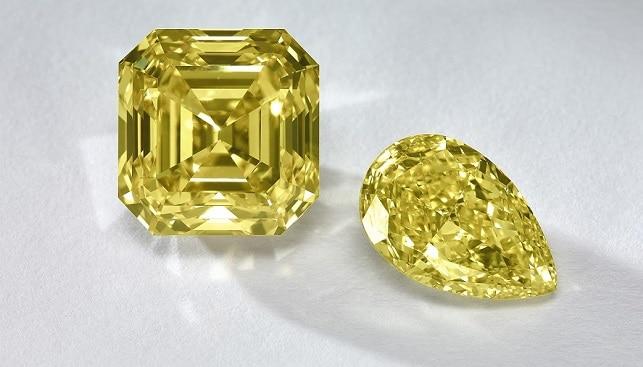 fancy color yellow diamonds