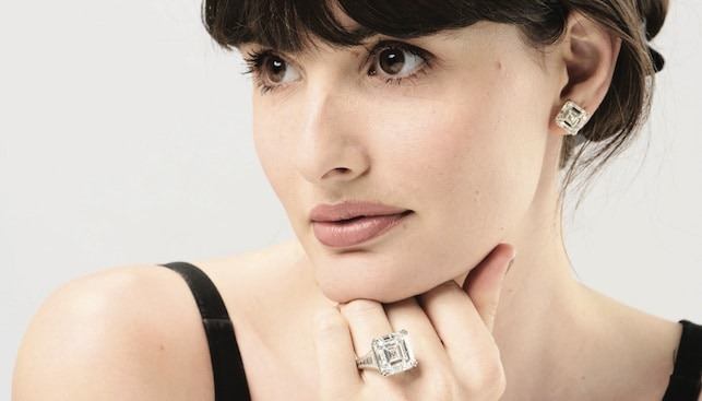 Diamond ring Australian record