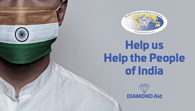 diamond aid india covid19
