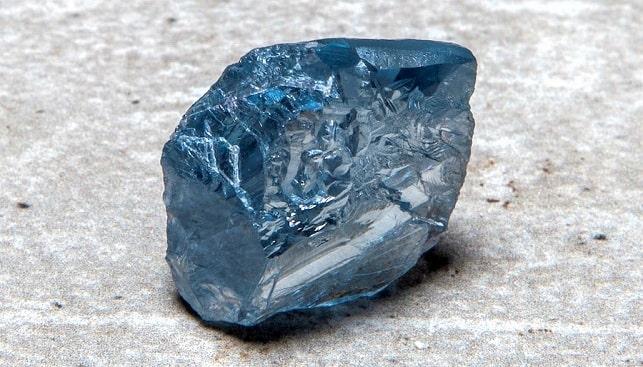 petra big blue diamond