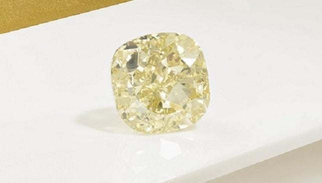 Dancing Sun yellow diamond