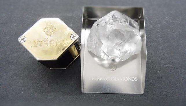 254 carat rough diamond
