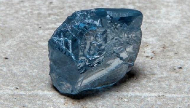 39.34 carat blue diamond petra