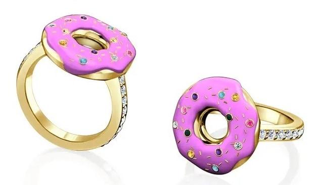 donut diamond ring simpsons