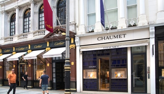 Cartier Chaumet Jewelry stores