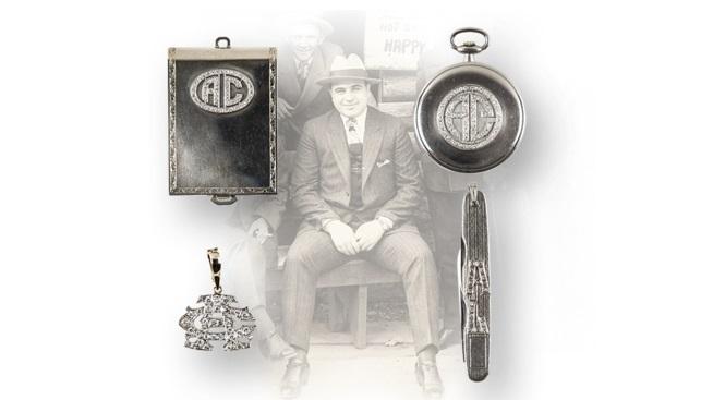 Al Capone Diamond Watch