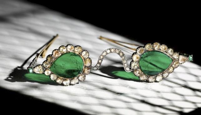 diamond emerald glasses sothebys