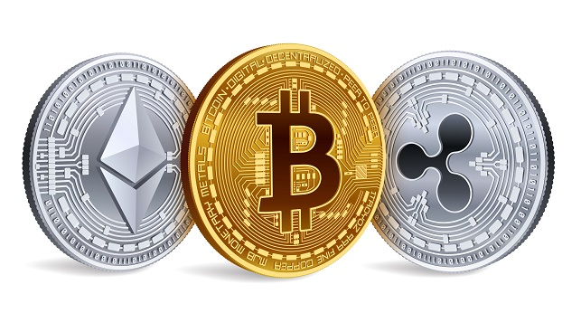 virtual crypto coins diamonds